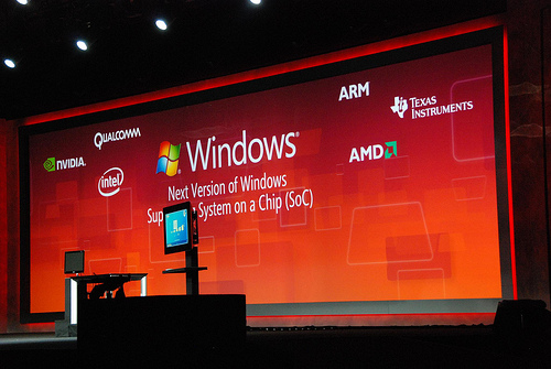 WoA: Windows8 on ARM