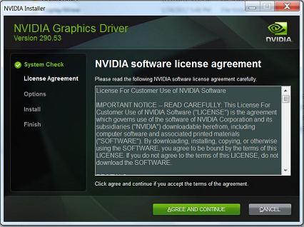 NVIDIA Driver Installation